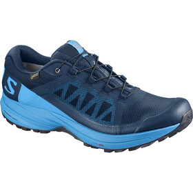 Salomon XA Elevate GTX Sko Herrer, poseidon/hawaiian surf/black